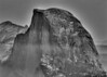Half Dome after Photomatix, desaturated